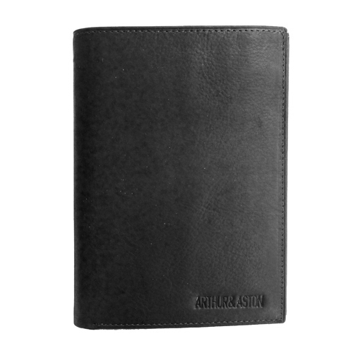 portefeuille homme arthur aston cuir gras noir grand portefeuille pour homme sac pour. Black Bedroom Furniture Sets. Home Design Ideas