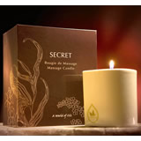 Bougie de massage SECRET 200 g Charme d'Andalousie