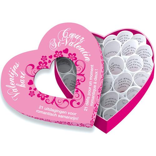 Mini c ur saint valentin jeux coquins tous les jeux - Idees cadeaux saint valentin pour les romantiques ...