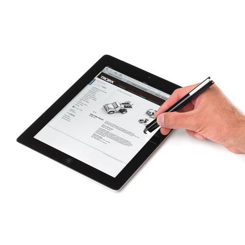 stylo bille et stylet combi stylus noir id e de cadeau pour homme le cadeau pour dire. Black Bedroom Furniture Sets. Home Design Ideas