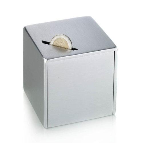tirelire aluminium avec m canisme d 39 ouverture raffin. Black Bedroom Furniture Sets. Home Design Ideas