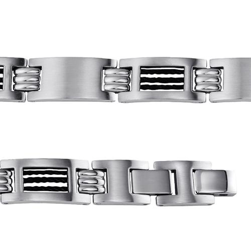 bracelet gourmette homme en acier inoxydable bijoux pour homme bracelet homme pendentif pour. Black Bedroom Furniture Sets. Home Design Ideas