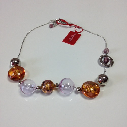 Collier rose JUST 2 ANTICA MURRINA
